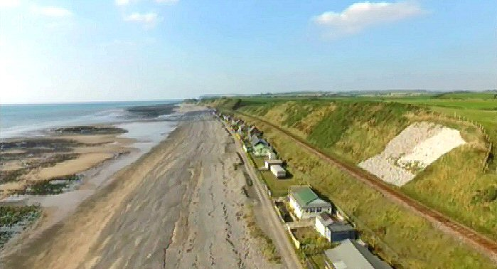 Braystones from the air