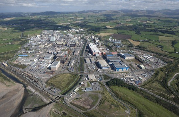 Sellafield from the air.